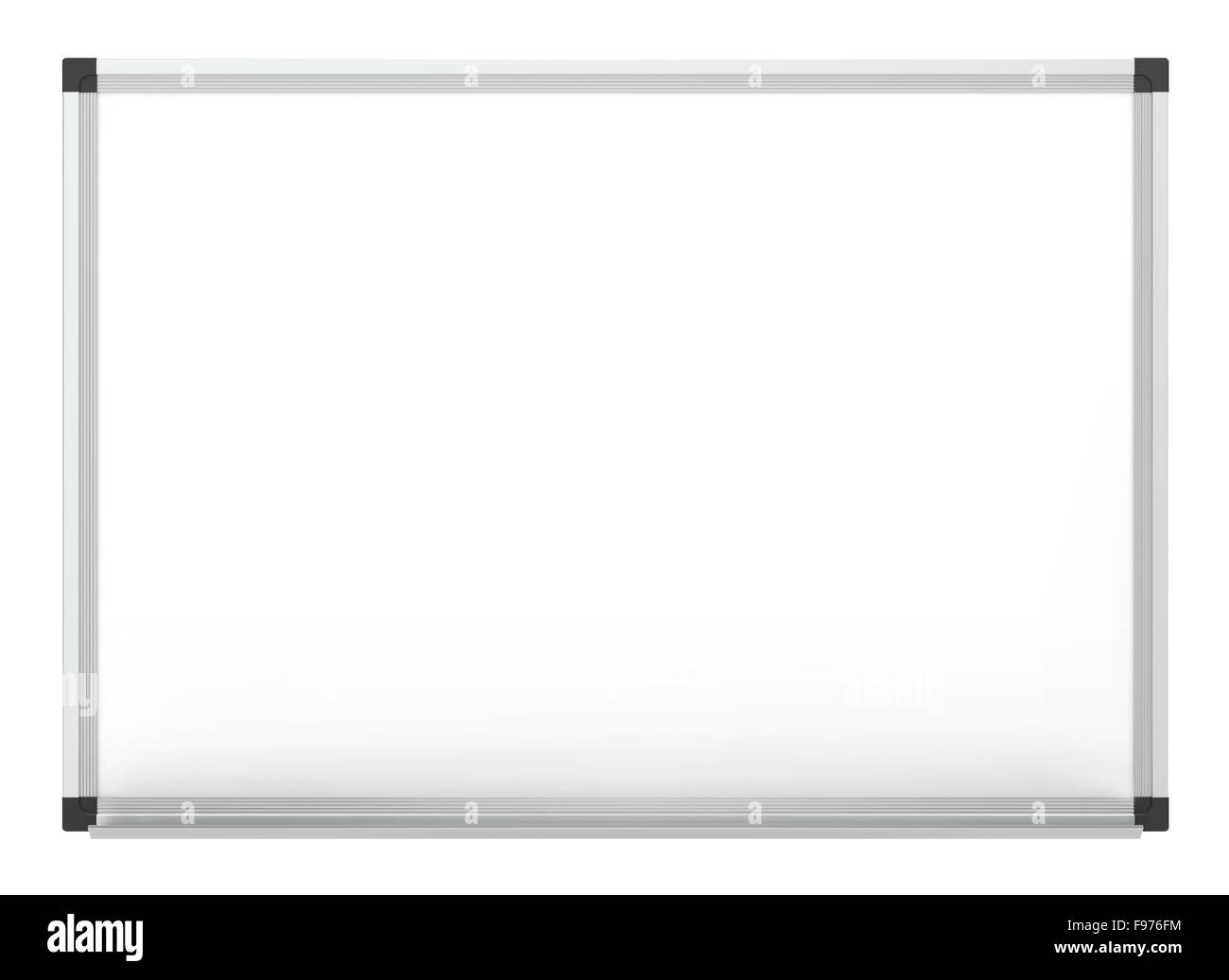 Classic Blank Whiteboard for copy space. Vector EPS10. - Stock Image