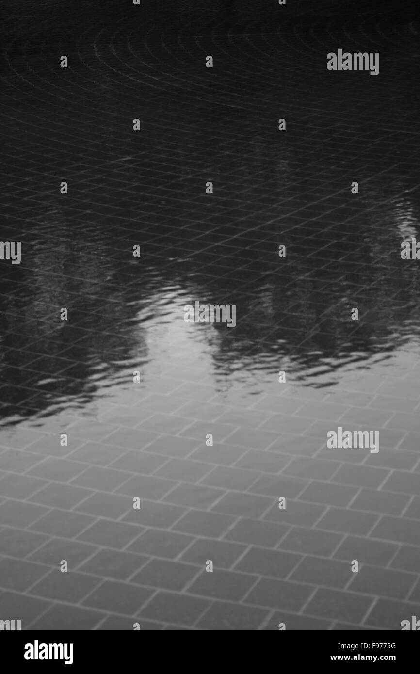 Detail Of Shallow Water - Stock Image