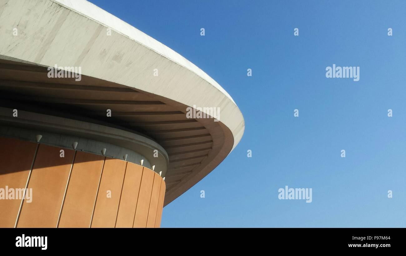 House Of World Cultures Against Blue Sky - Stock Image