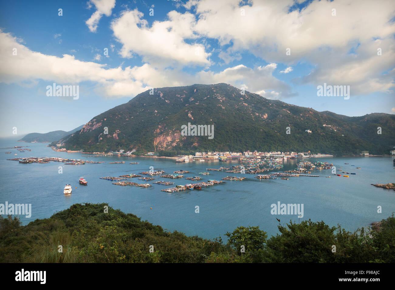Lamma island in hongkong - Stock Image