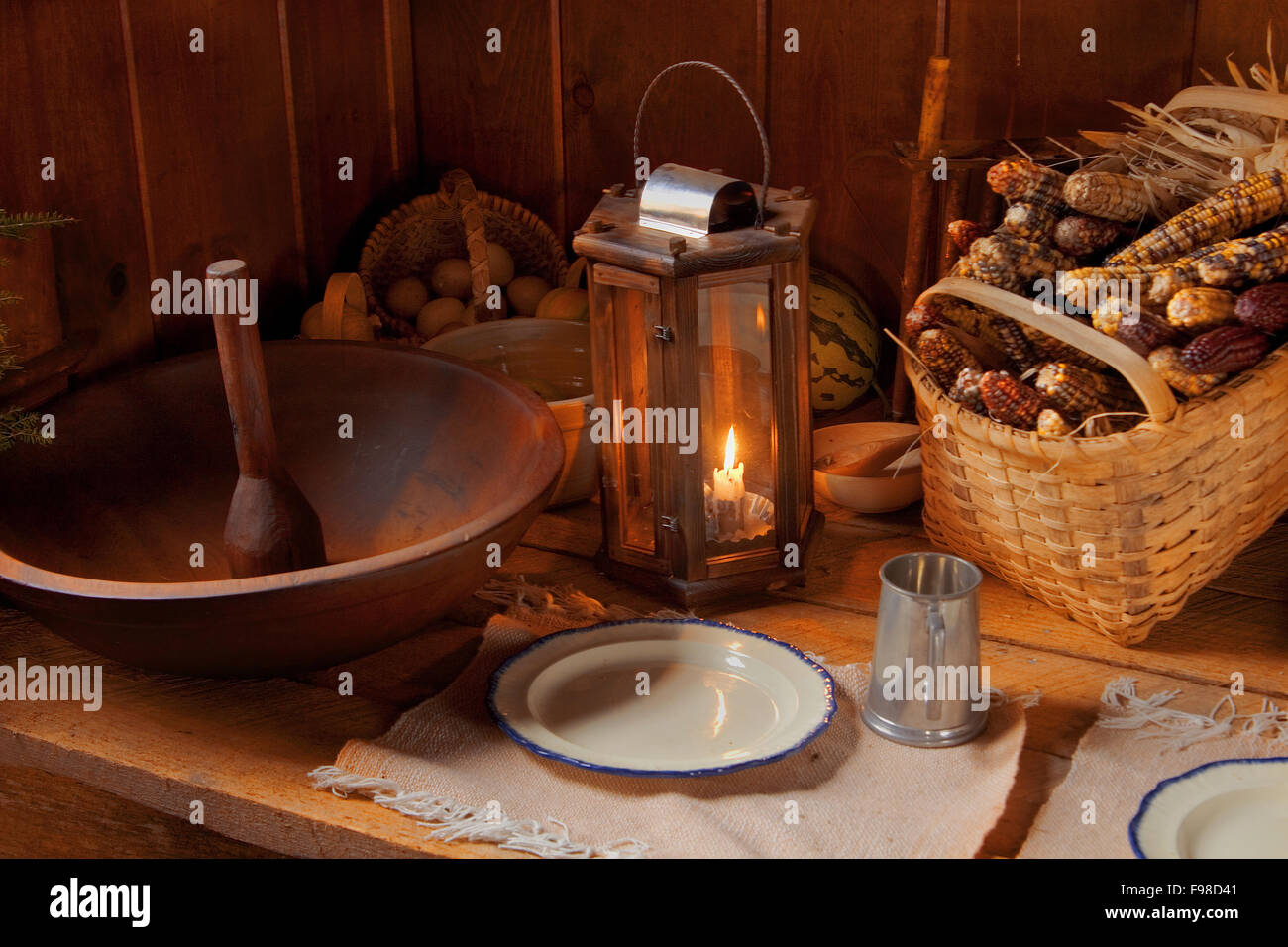 Harvest Kitchen Table Mountain harvest kitchen table stock photo 91769665 alamy mountain harvest kitchen table workwithnaturefo
