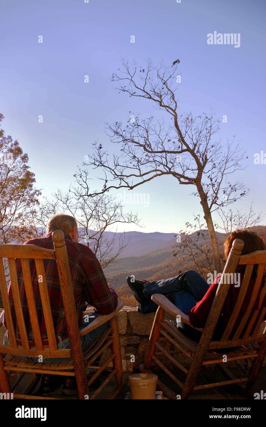 Admirable Enjoying A View Of The North Georgia Blue Ridge Mountains Gmtry Best Dining Table And Chair Ideas Images Gmtryco