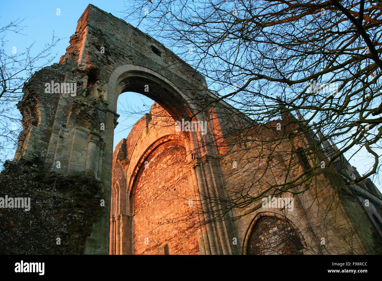 Malmesbury Abbey in Wiltshire - Stock Image
