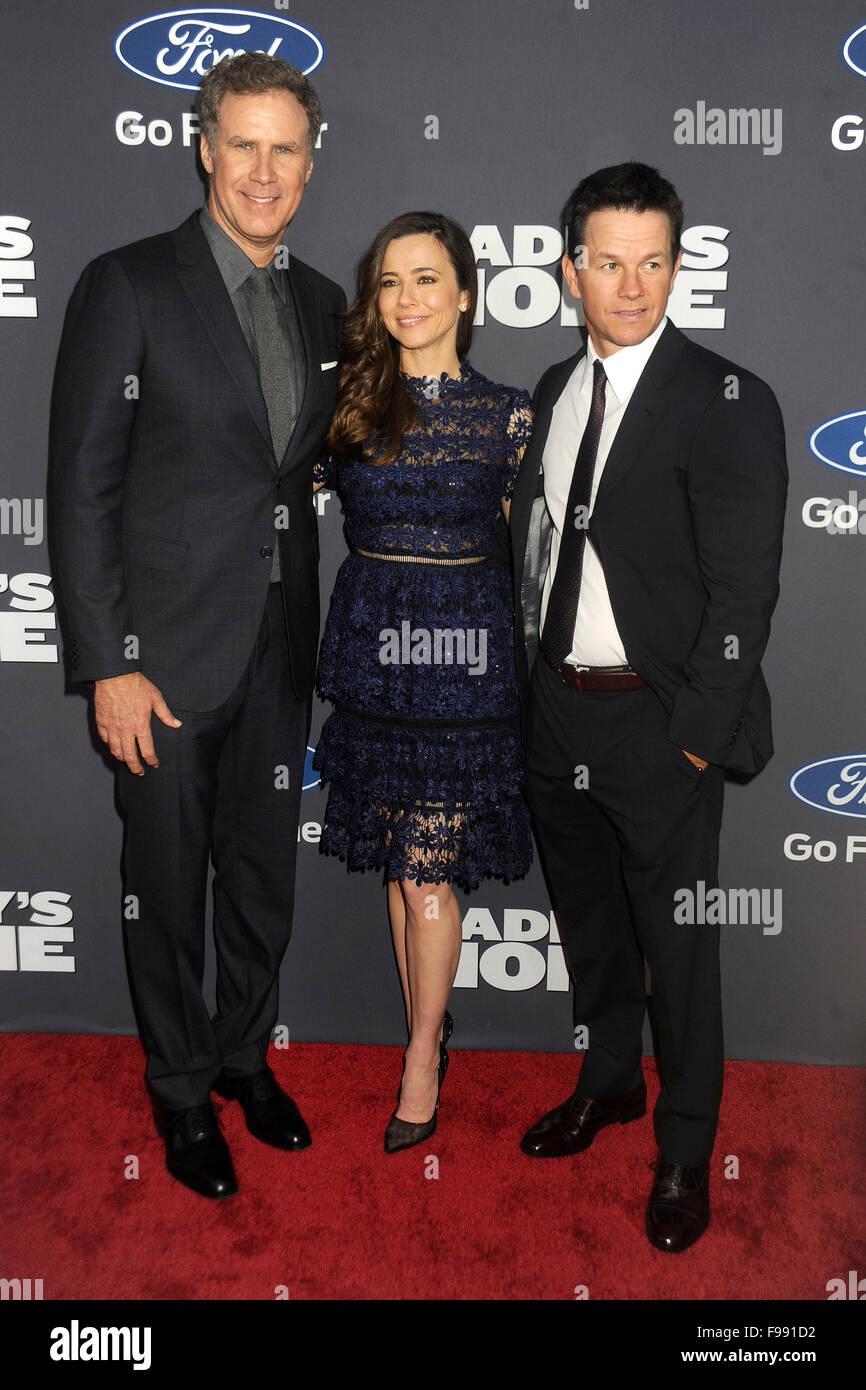 Will Ferrell Linda Cardellini Und Mark Wahlberg Bei Der Premiere
