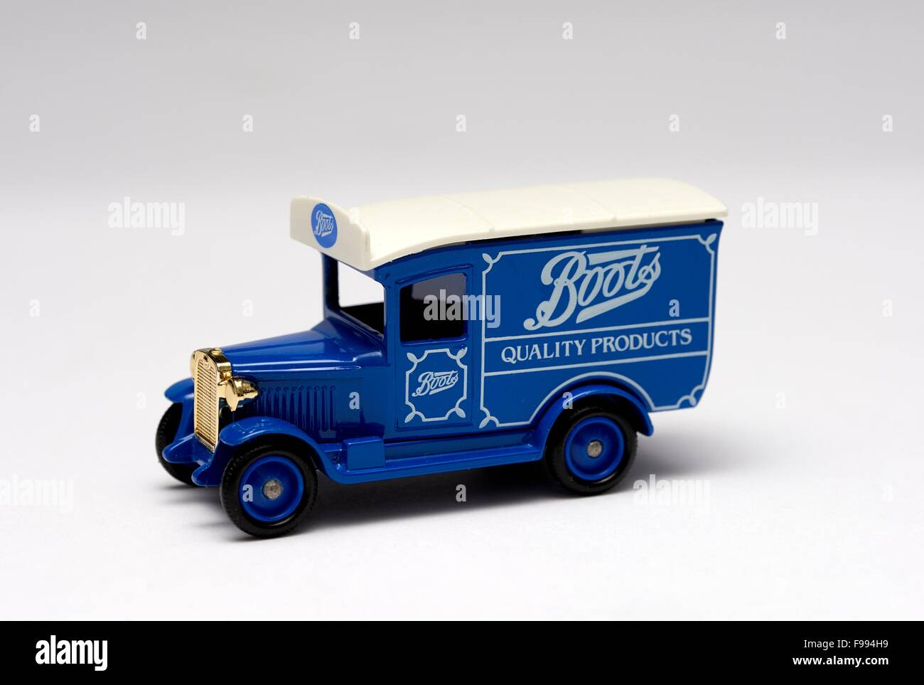 1934 Model 'A' Ford Van Diecast Promotional Model Stock Photo