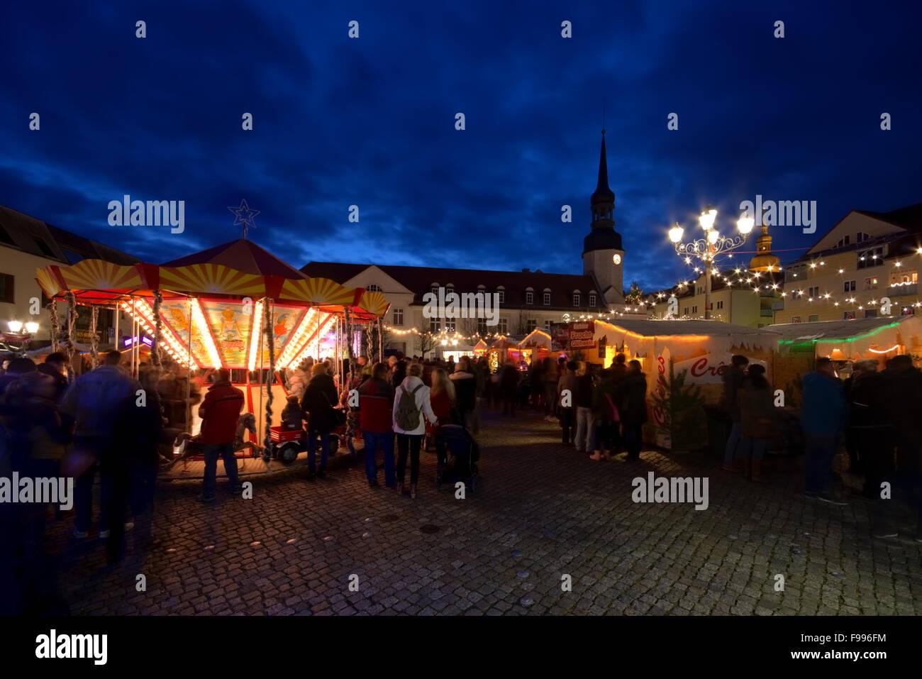 Spremberg Weihnachtsmarkt - Spremberg christmas market 06 - Stock Image