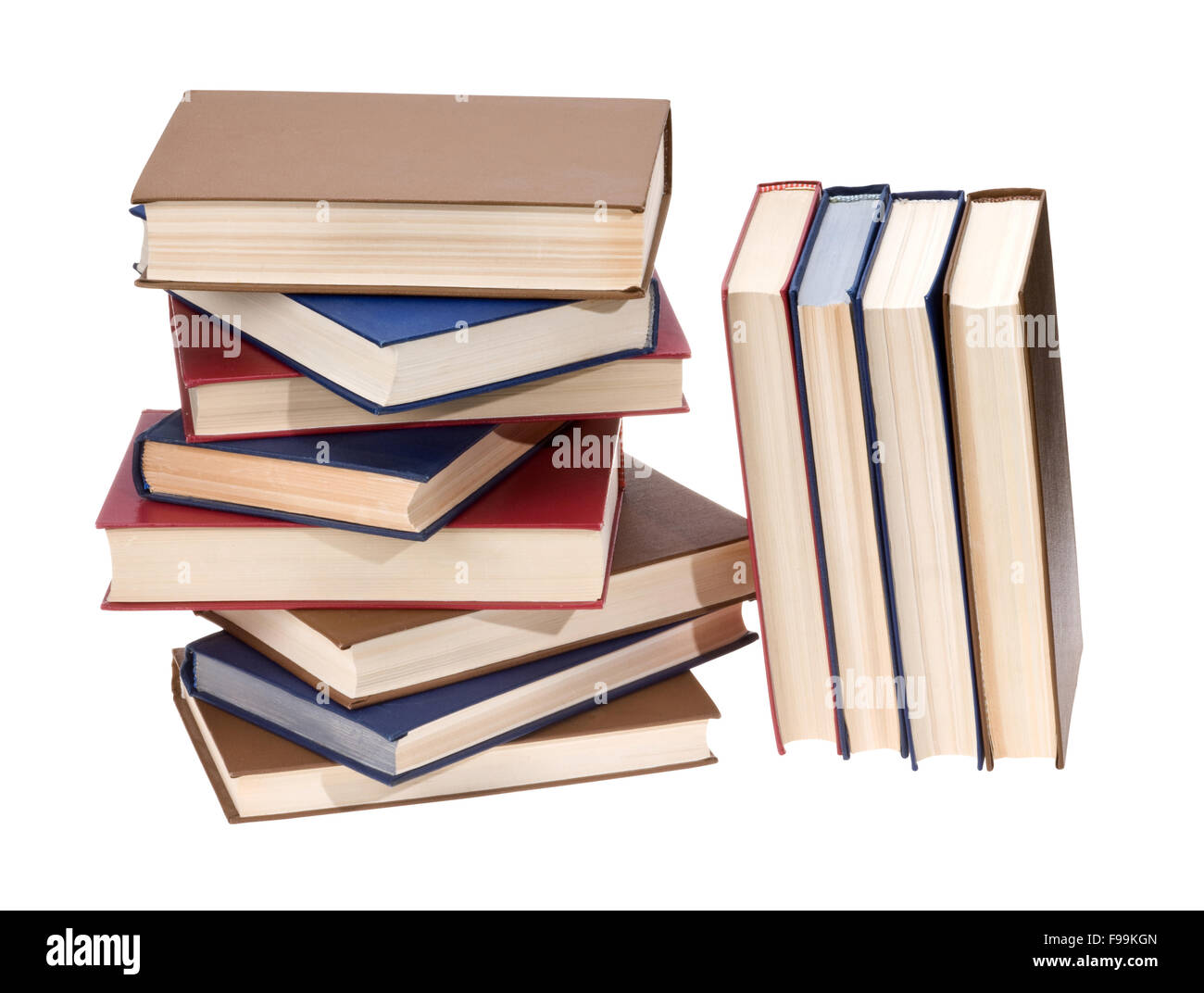 Book stack - Stock Image