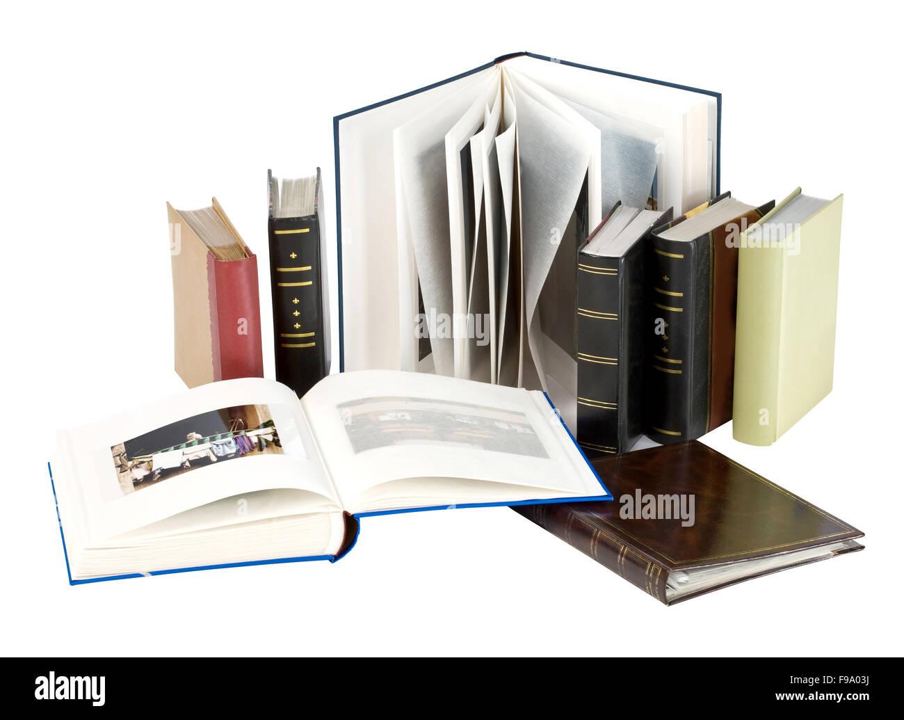 Photo albums - Stock Image