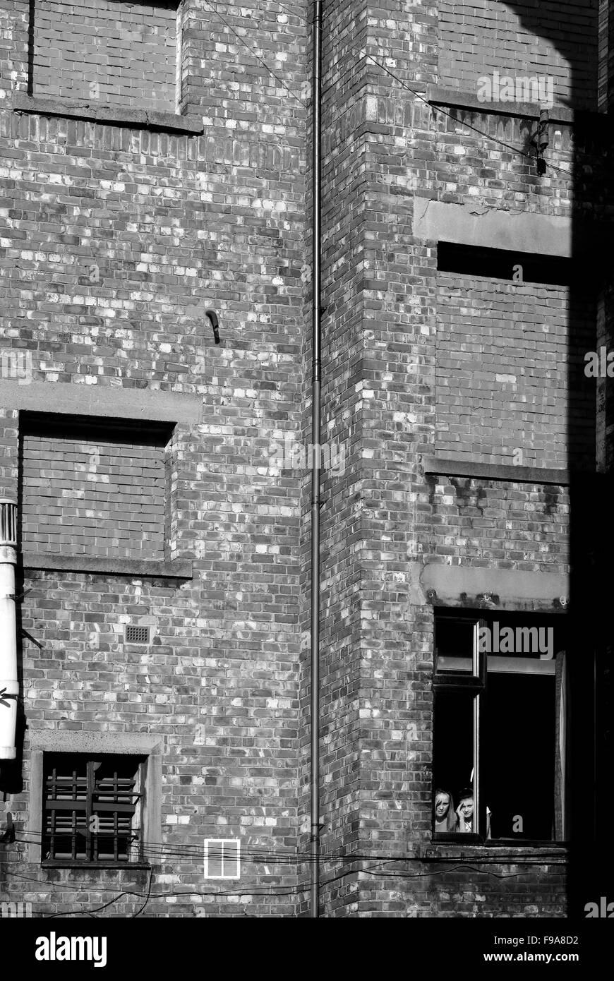Watchers, Newcastle upon Tyne - Stock Image