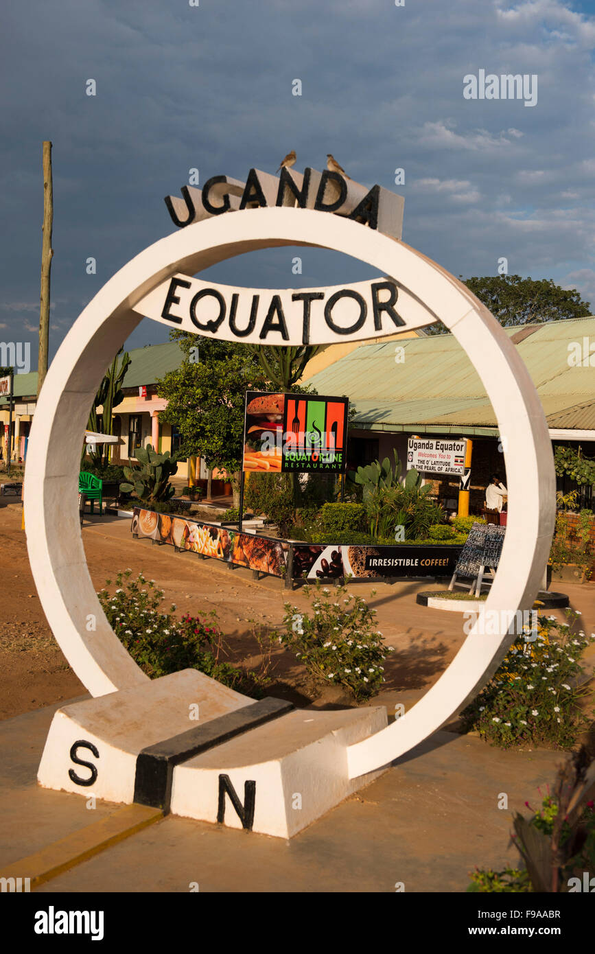 Equator, Uganda - Stock Image