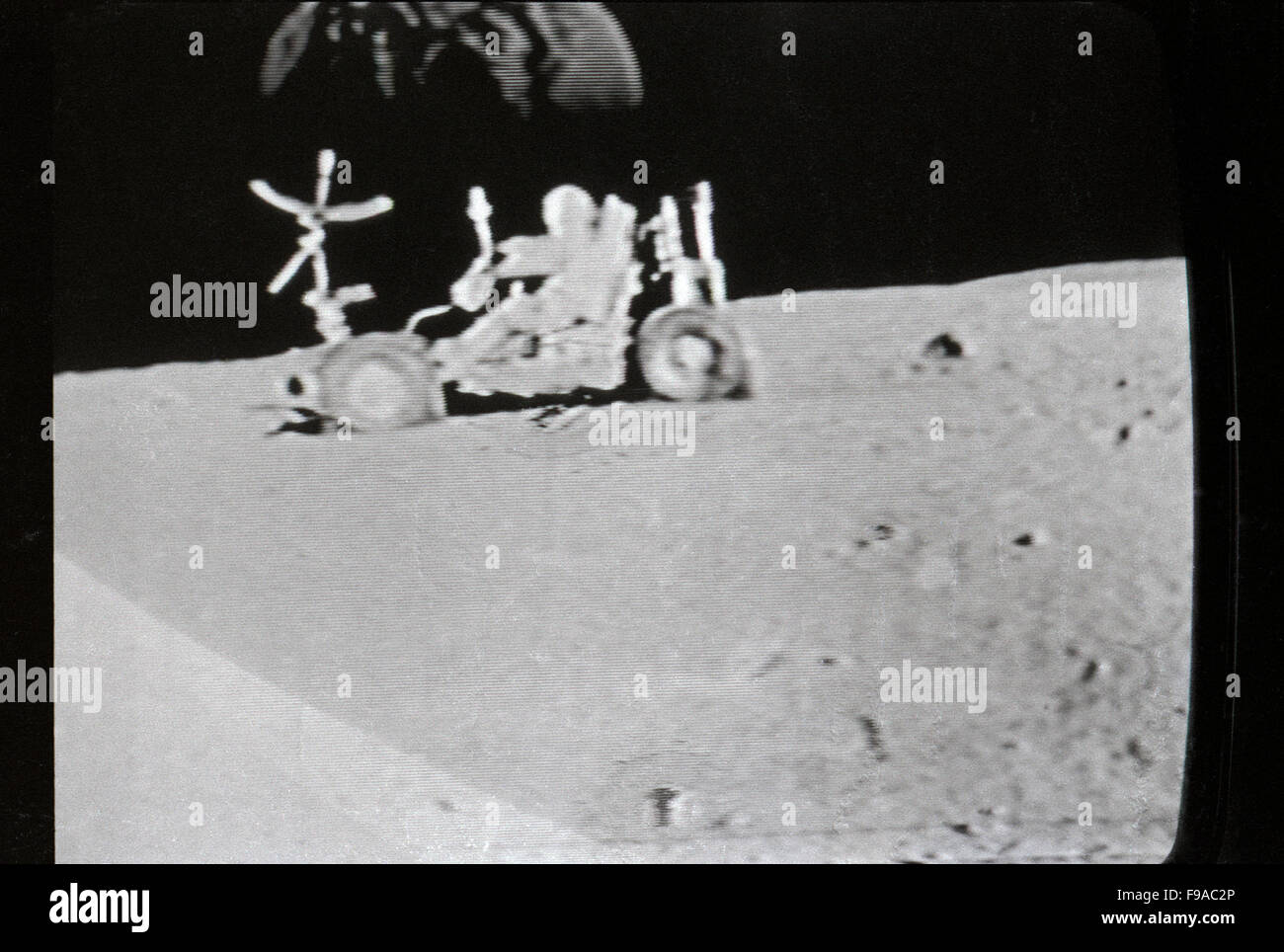 Apollo 11 Moon Landing 20 July 1969 Photographed In Actual Time On The Television Los Angeles California KATHY DEWITT
