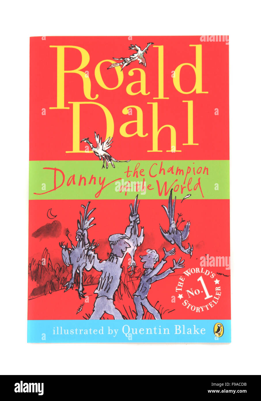 Danny the Champion of the World, a children's book by Roald Dahl - Stock Image