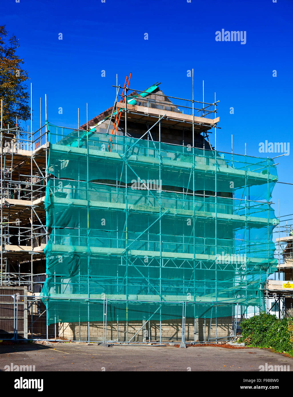 New Build House - Stock Image
