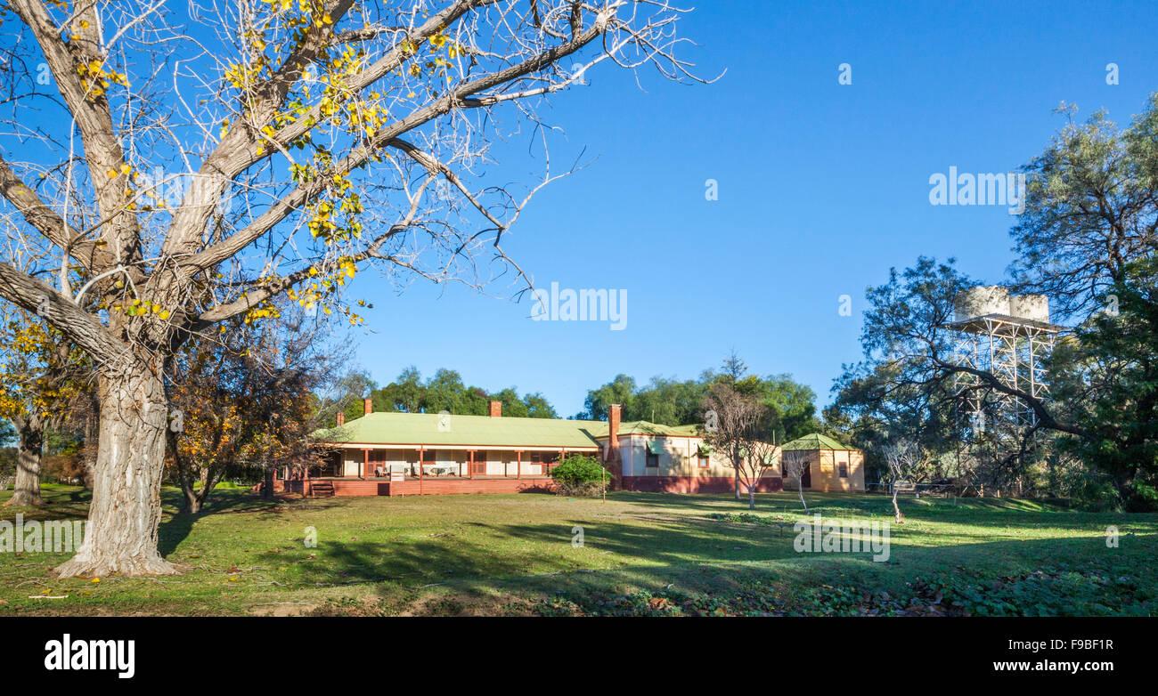 Wilandra Homestead, Wilandra National Park, Far West New South Wales, Australia - Stock Image