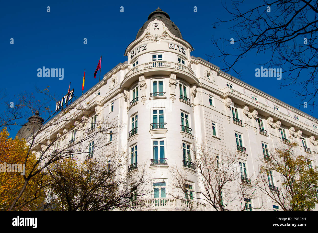 Hotel Ritz, Madrid, Spain - Stock Image