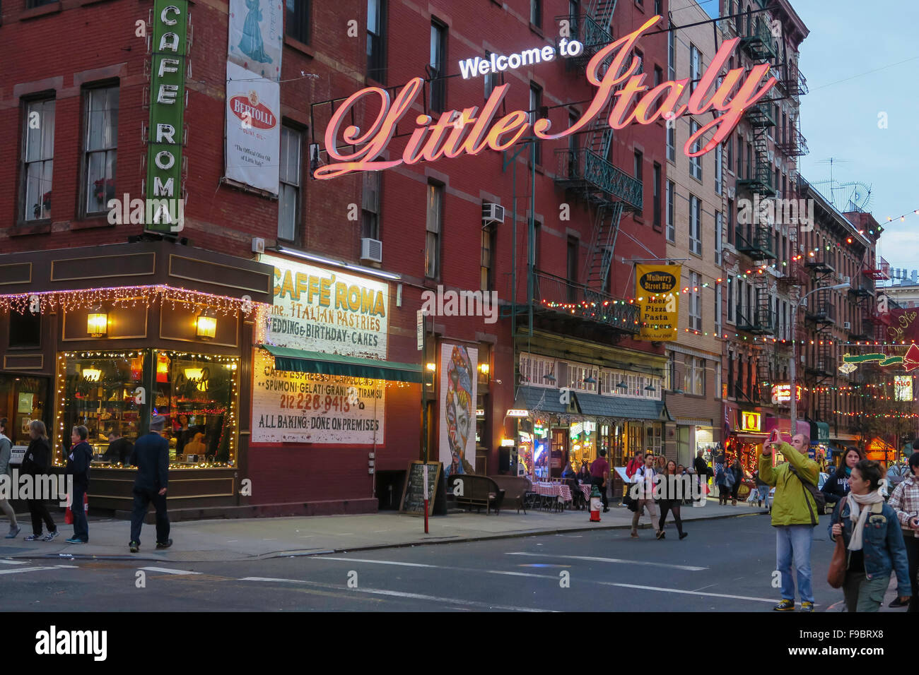 Welcome To Little Italy Sign Stock Photos & Welcome To Little Italy ...