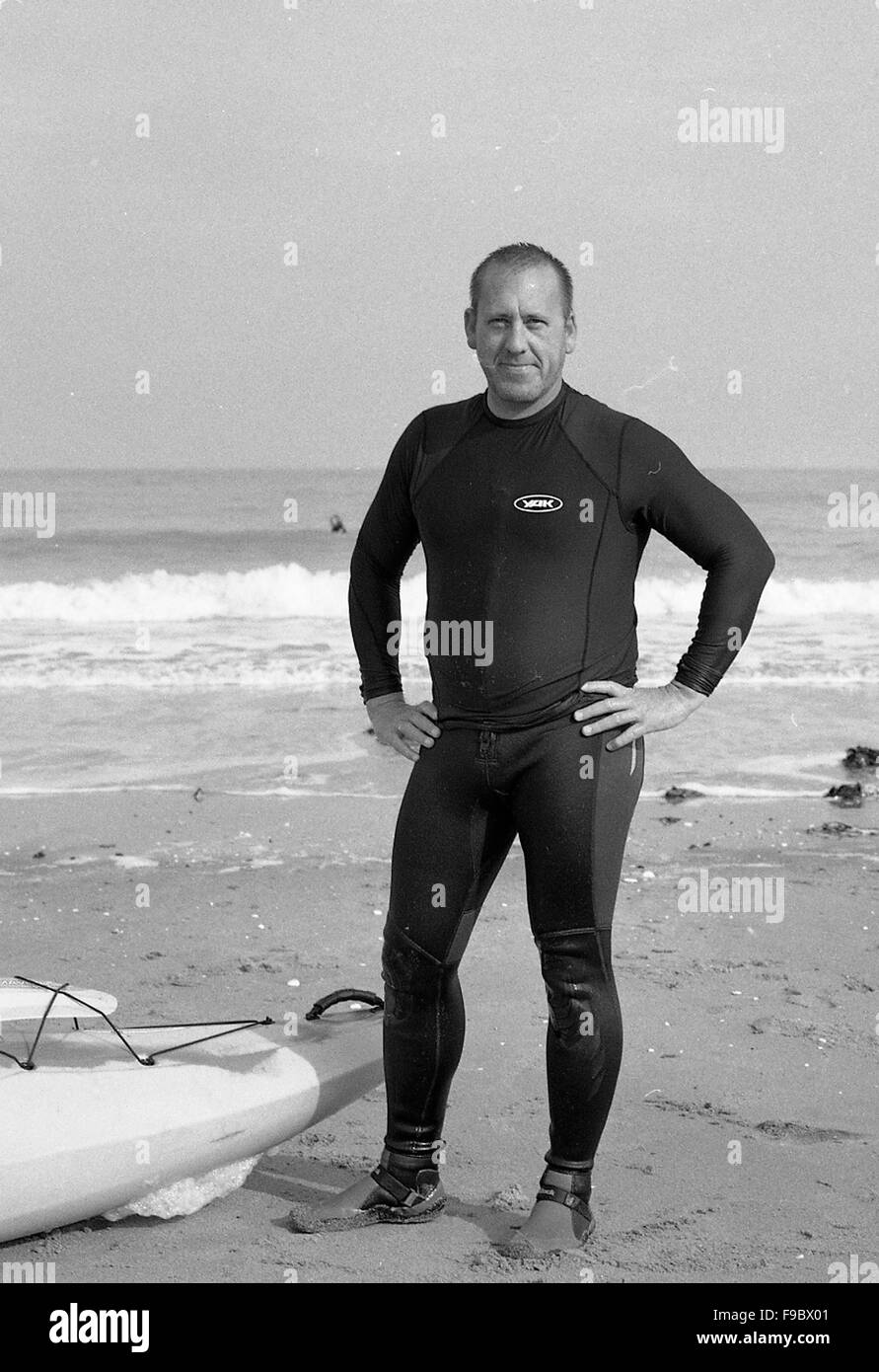 Wet Suit Black and White Stock Photos   Images - Alamy 825fb2738