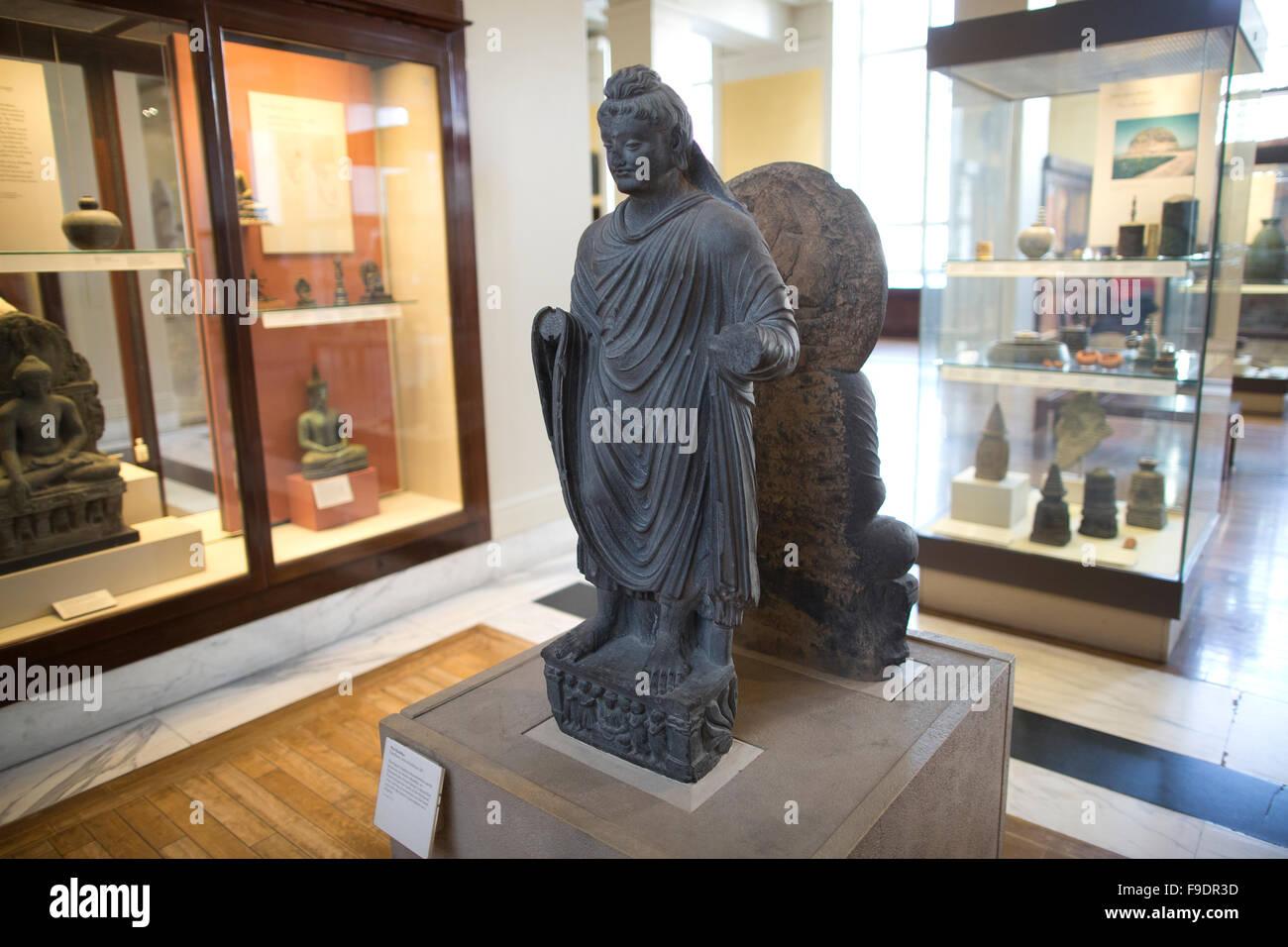 The Buddha Gandhara 2nd 3rd Century Ad At The British Museum Stock Photo Alamy