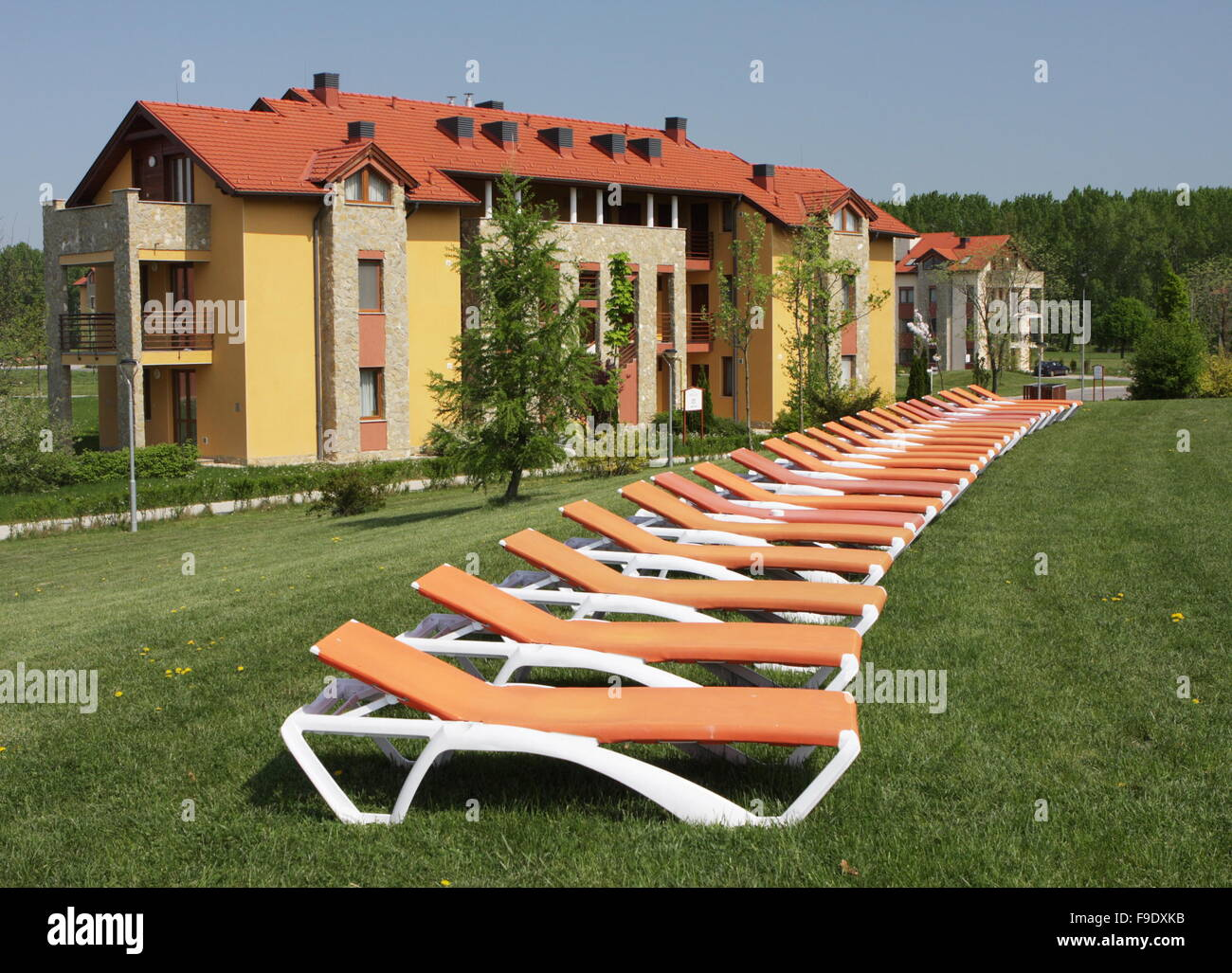 Health and Spa Centre Bükfürdő, Hungary - Stock Image