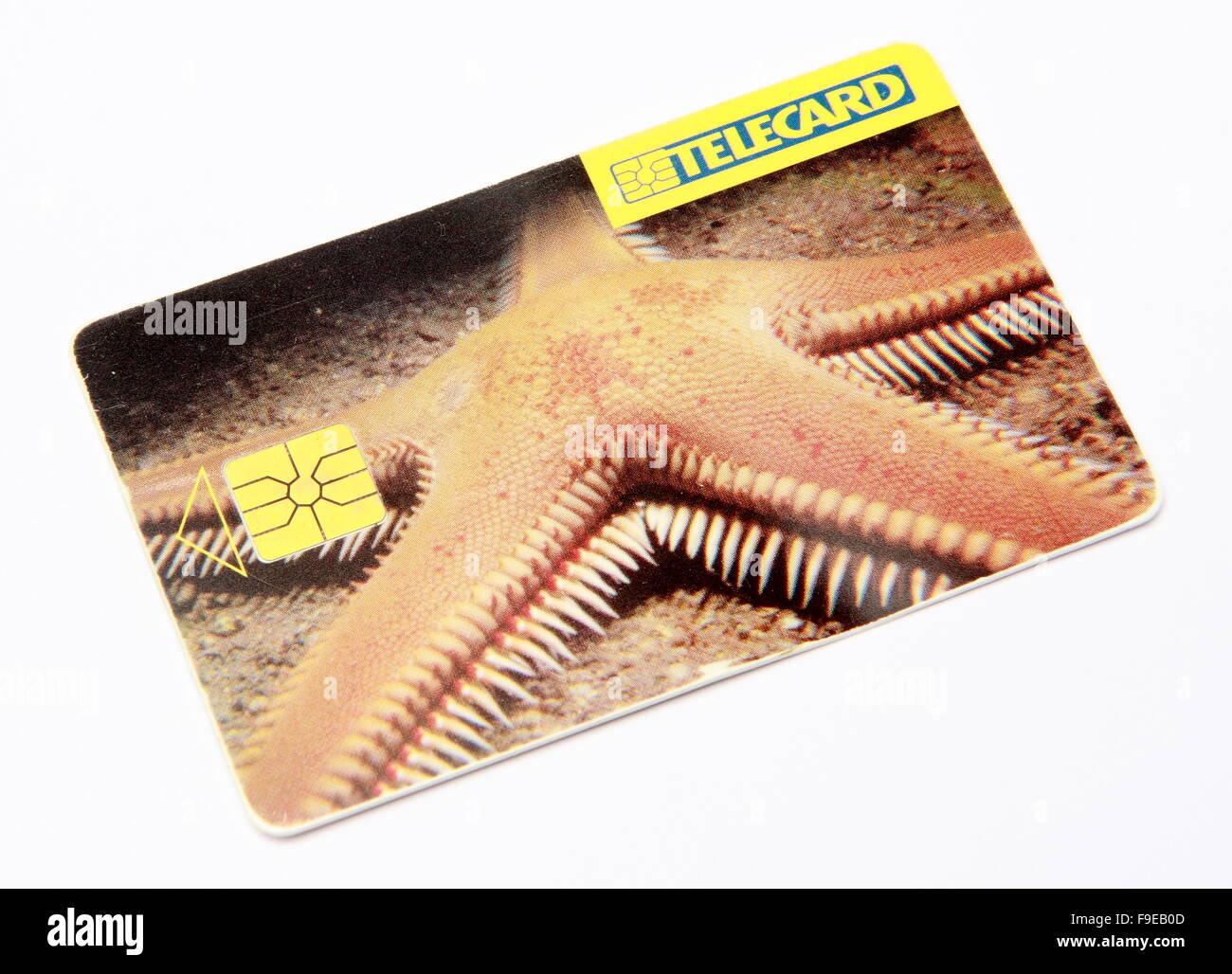 Calling Card - Stock Image