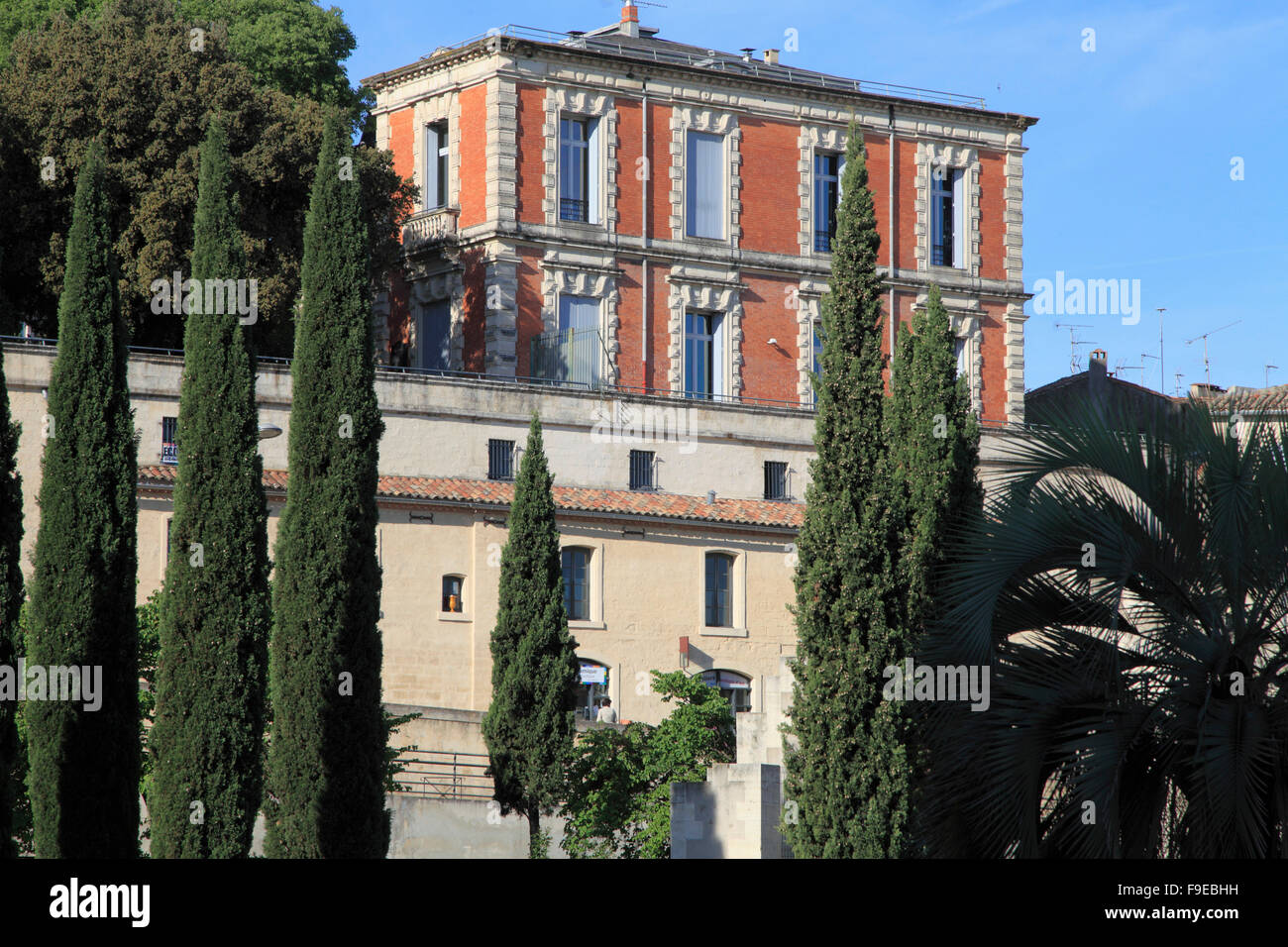France, Languedoc-Roussillon, Montpellier, Maison des Relations Internationales, - Stock Image