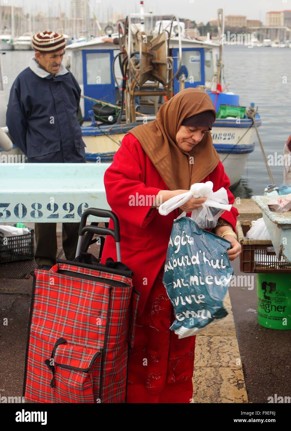 Fish Market - Stock Image