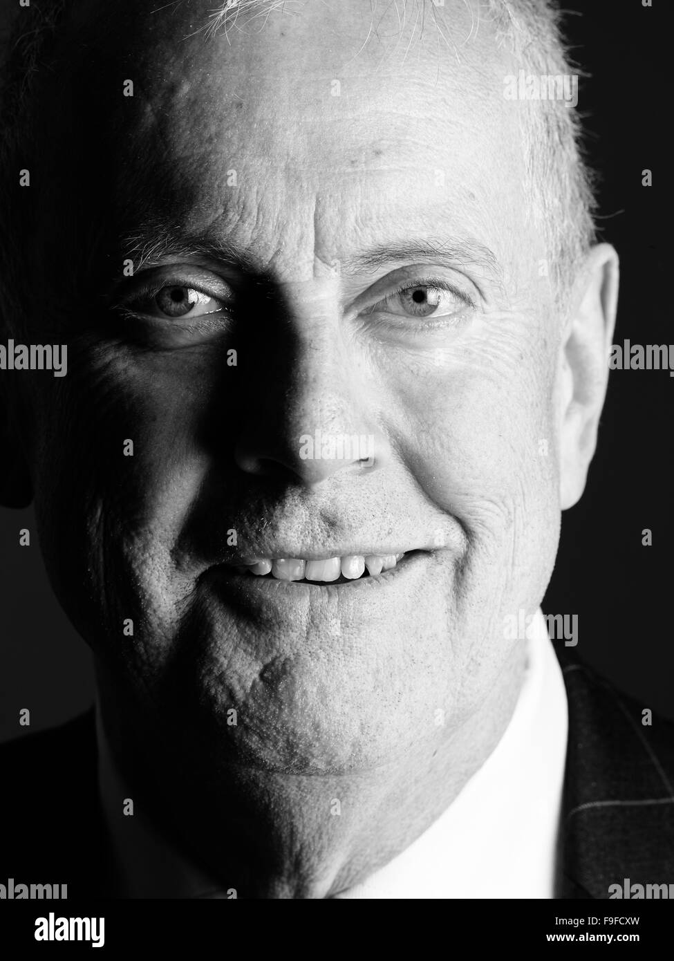 Giles Brandreth at the Oldie Literary Lunch 15-12-15 - Stock Image