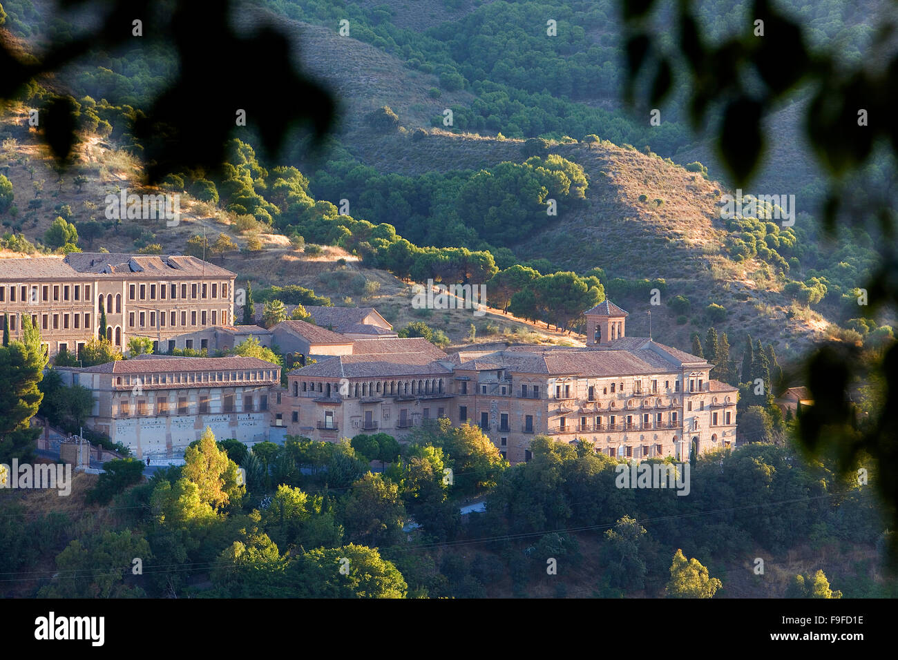 Geography Travel Spain Granada City Stock Photos & Geography