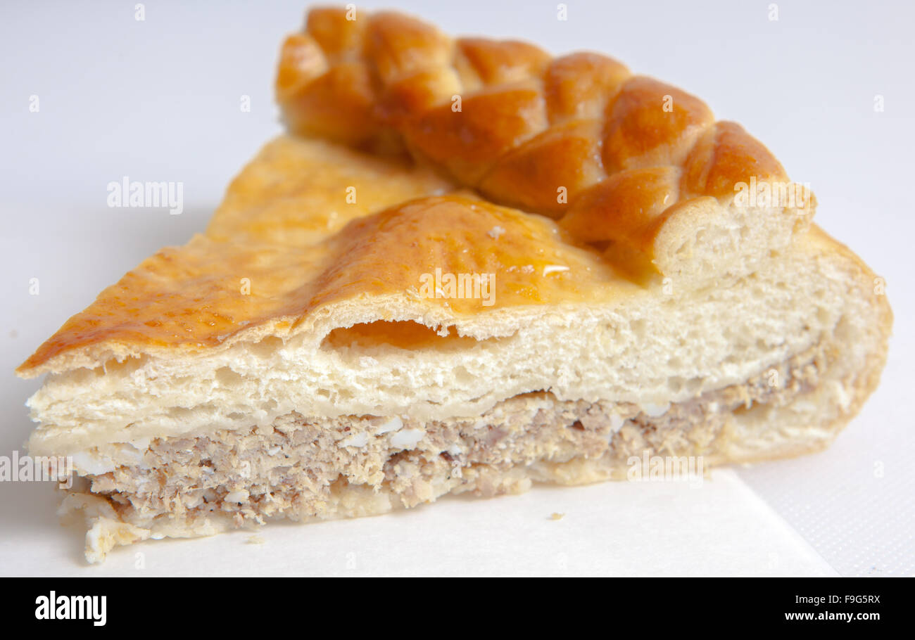 pies with various fillings - Stock Image