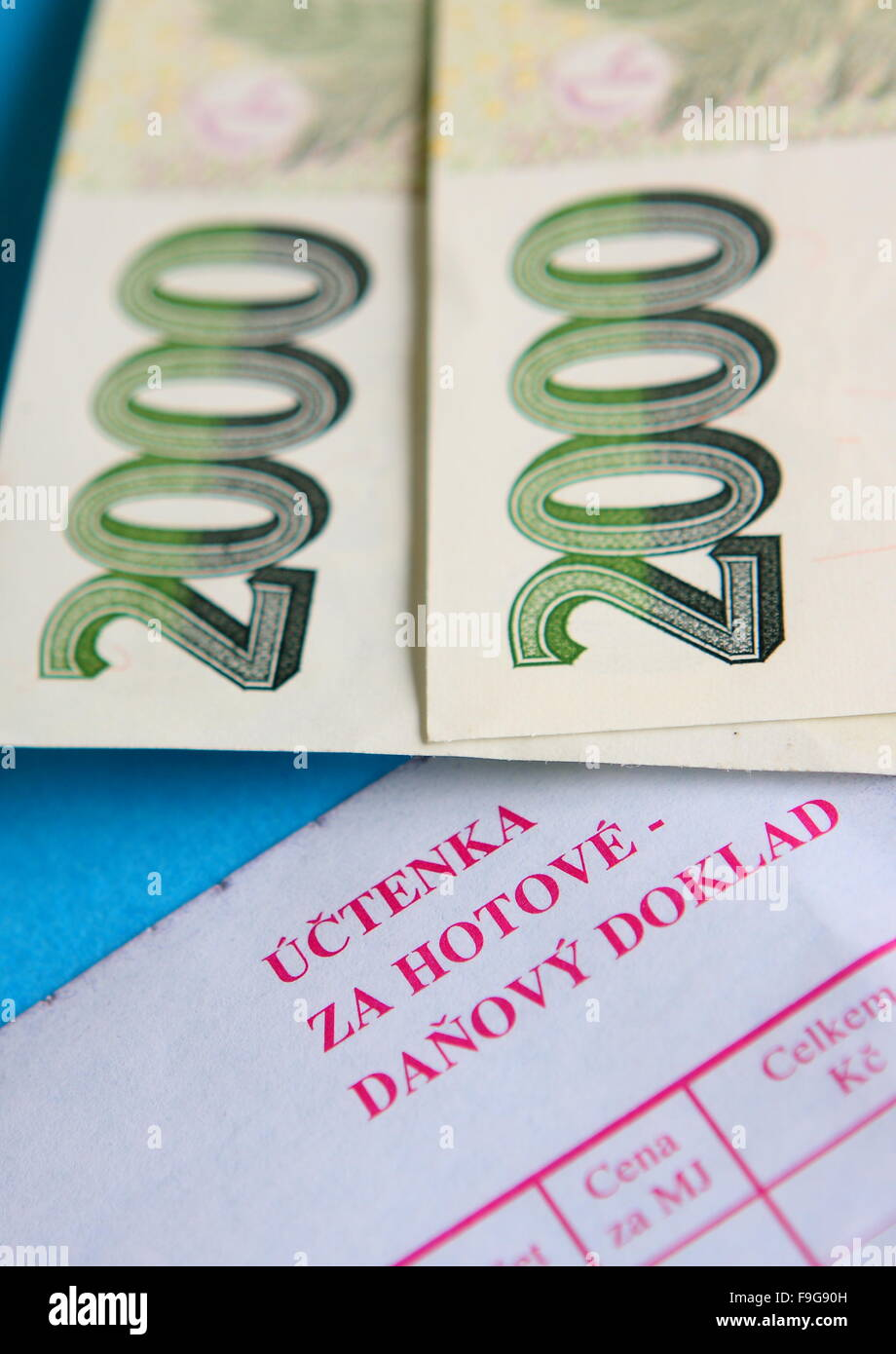 Detail Of Paper Czech Money No People Stock Photos Detail Of Paper