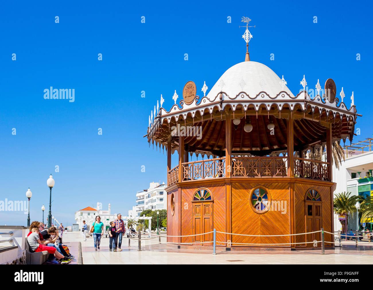 Pavilion, Parque Municipal, Arrecife, Lanzarote, Canary Islands, Spain - Stock Image