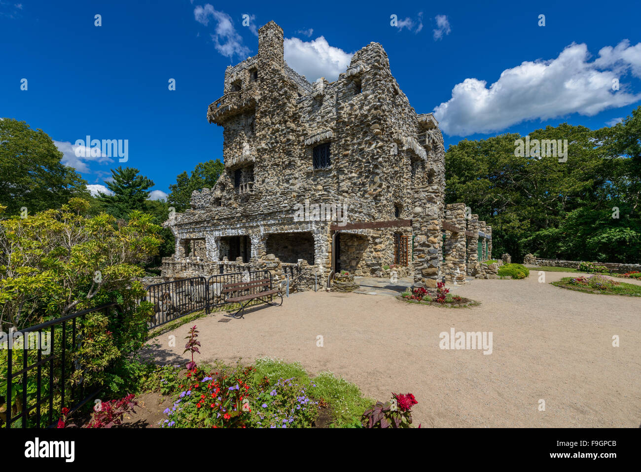 Gillette Castle State Park, East Haddam, Connecticut - Stock Image