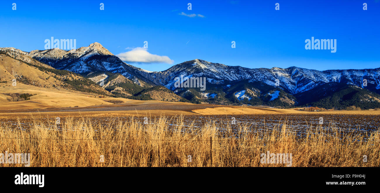Montana Mountains Sunset