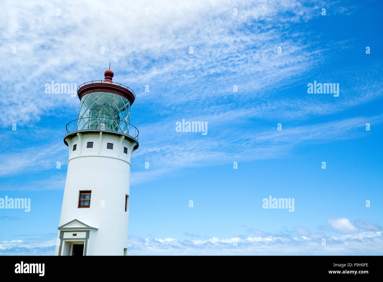 Kilauea Light on Kauai island, Hawaii - Stock Image