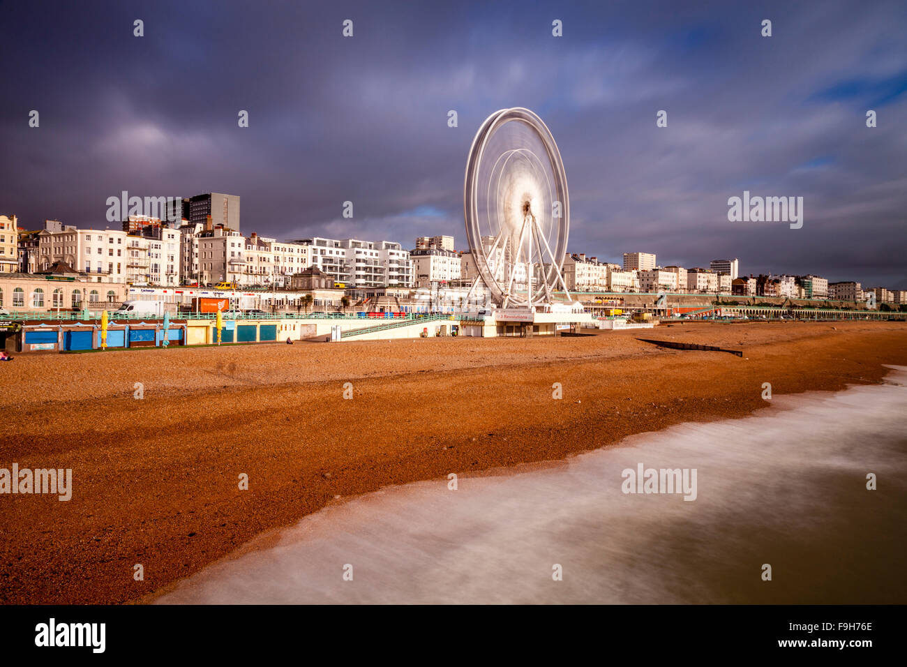 The Seafront, Brighton, Sussex, UK - Stock Image
