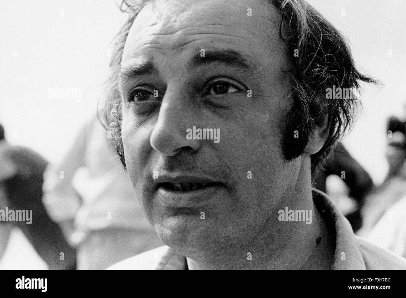 AJAXNETPHOTO. 1973. PORTSMOUTH, ENGLAND. - WHITBREAD RACE 1973/1974 - START 1973 - BURTON CUTTER SKIPPER : LESLIE - Stock Image