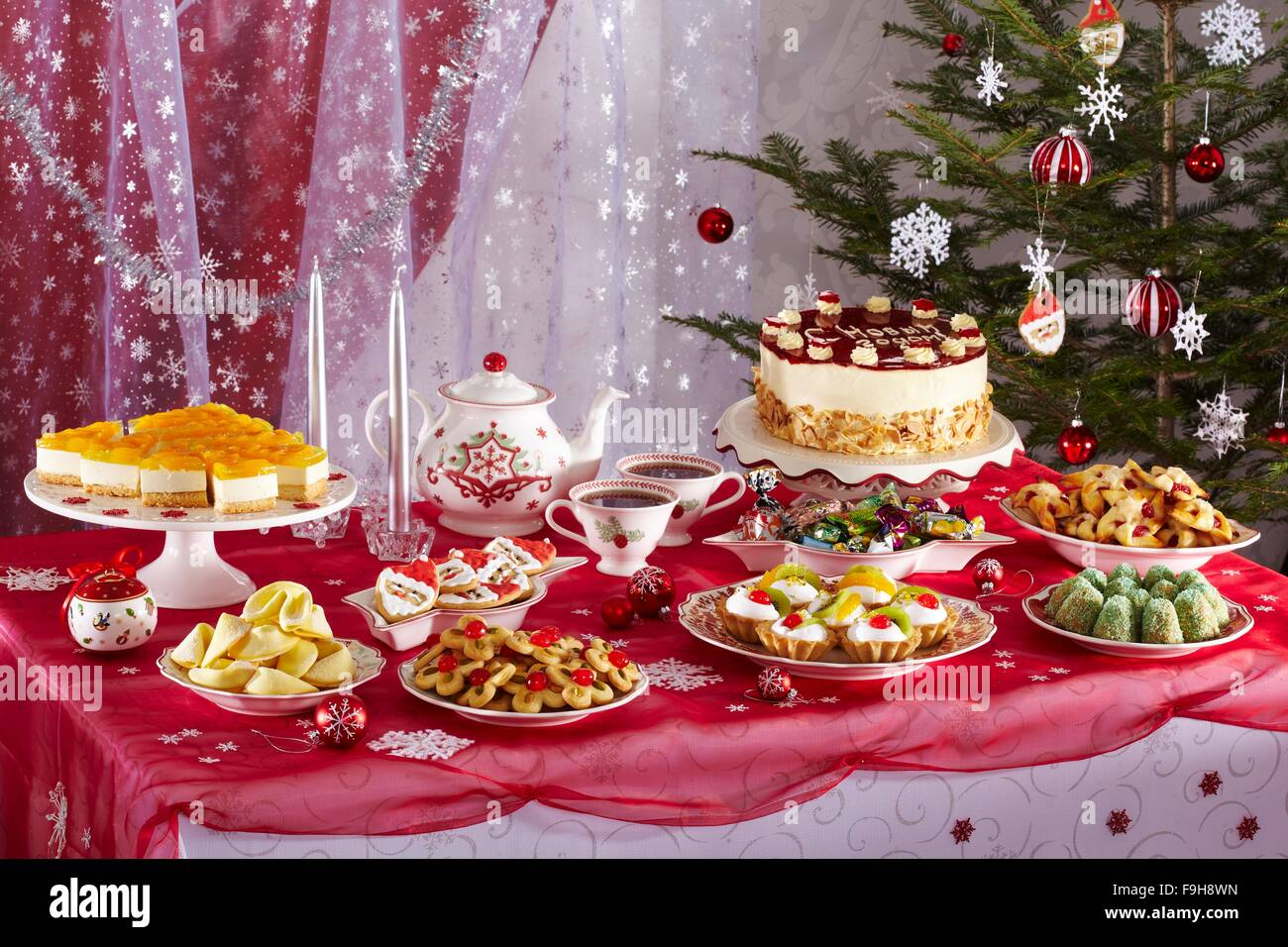 New Years Eve Menu Table High Resolution Stock Photography And Images Alamy