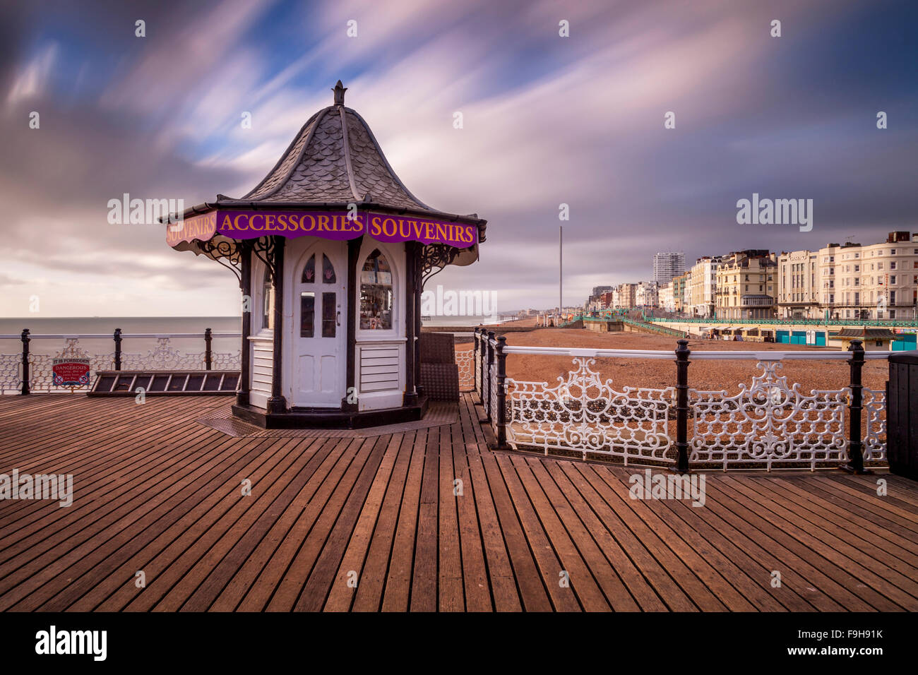 Brighton Pier, Brighton, Sussex, UK - Stock Image