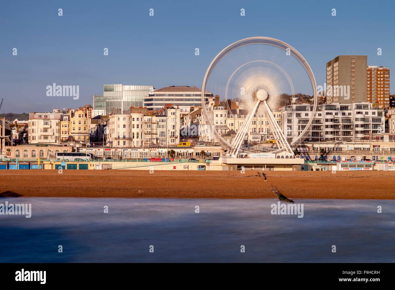Brighton Seafront, Brighton, Sussex, UK - Stock Image