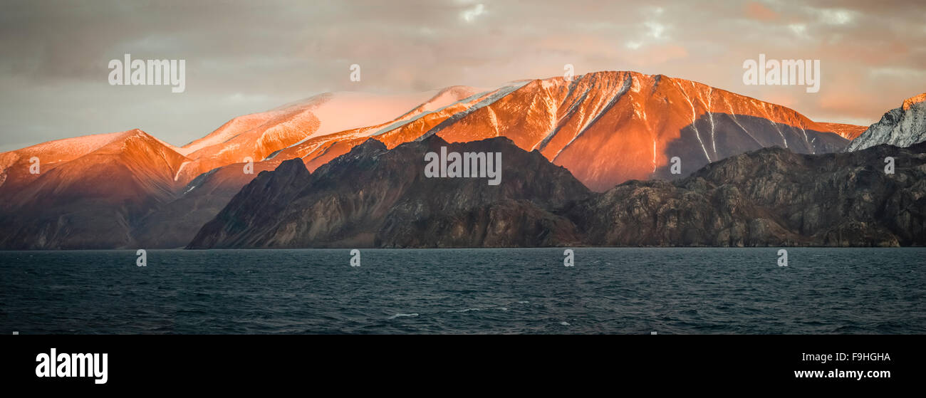 Baffin Island canada Stock Photo