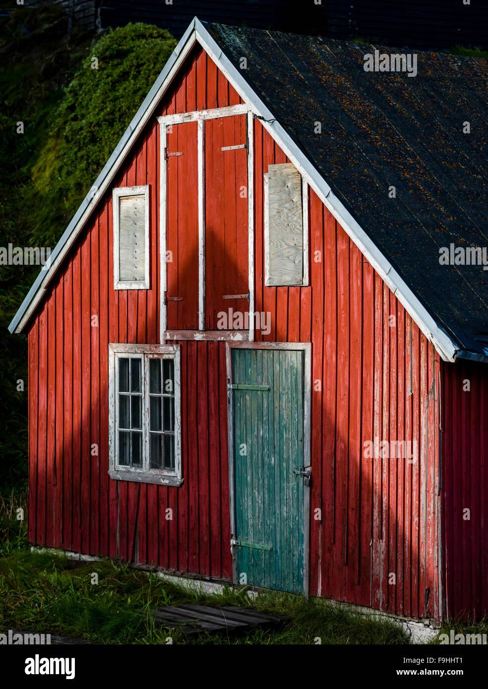 SISIMIUT       GREENLAND - Stock Image