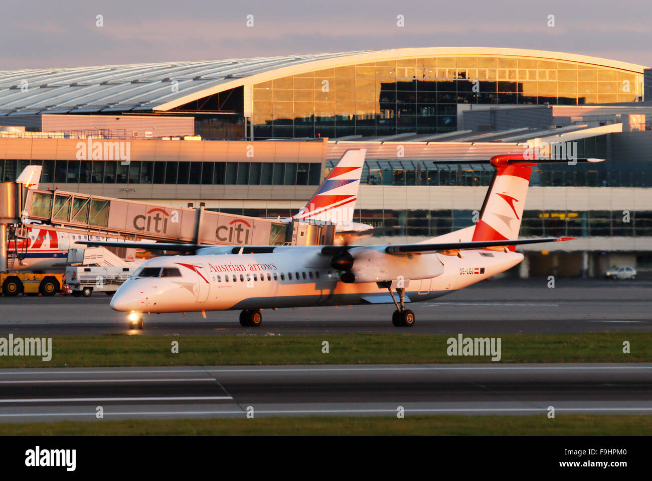 DHC-8-400 Dash 8 - Stock Image