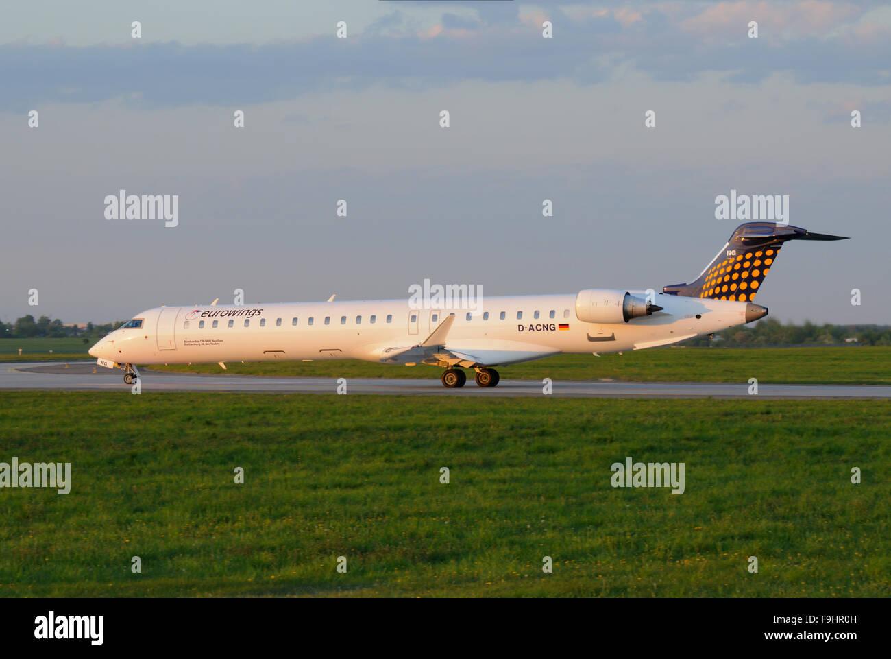 Canadair CRJ-900 - Stock Image