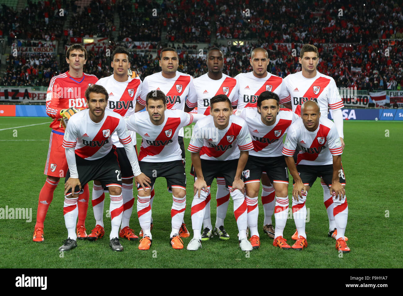 River Plate: River Plate Team Group Line-up (River Plate), DECEMBER 16