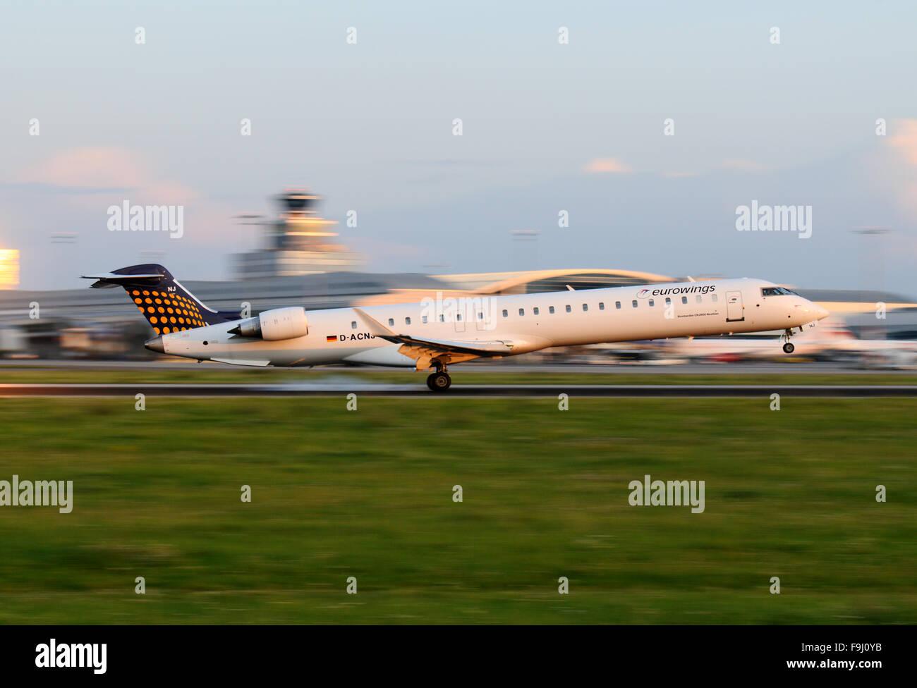 Eurowings Canadair Regional Jet CRJ-900 - Stock Image