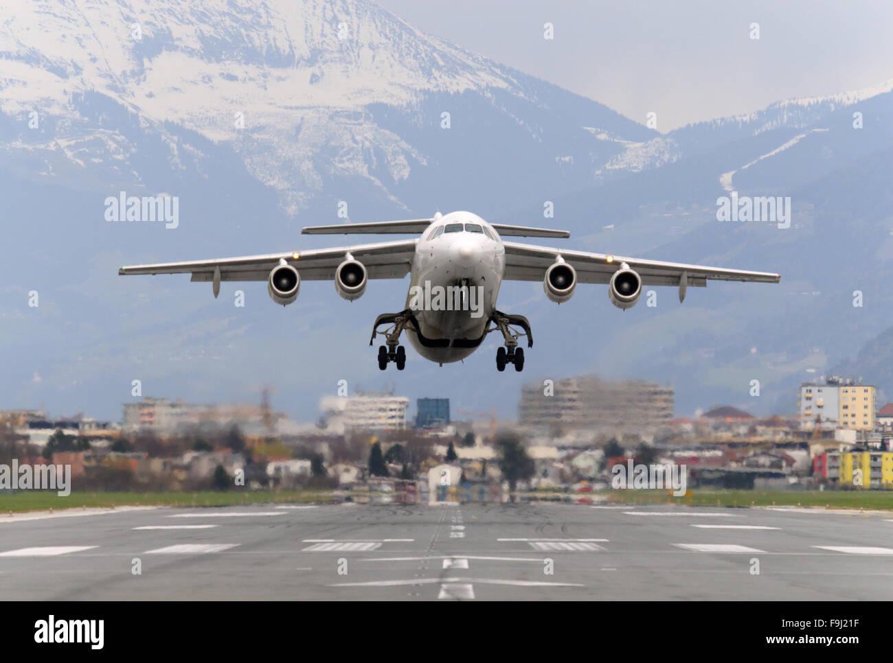 Atlantic Airways BAe 146 - Stock Image