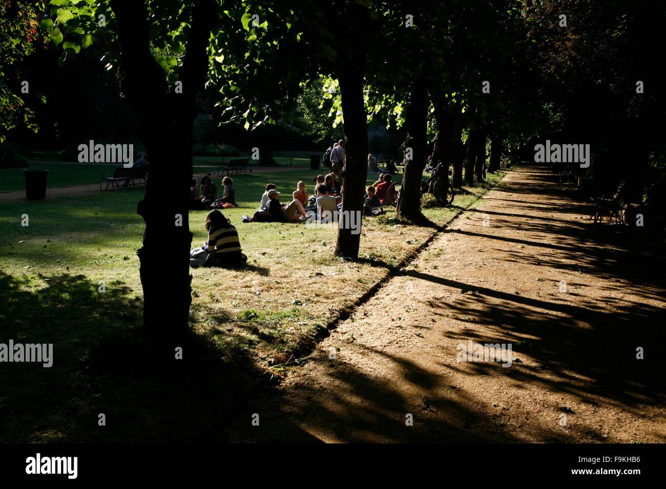 Gordon Square, Bloomsbury, London, UK - Stock Image