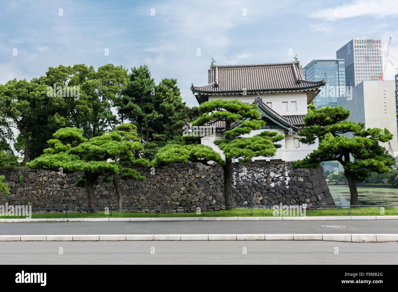 Imperial Palace Tokyo - Stock Image