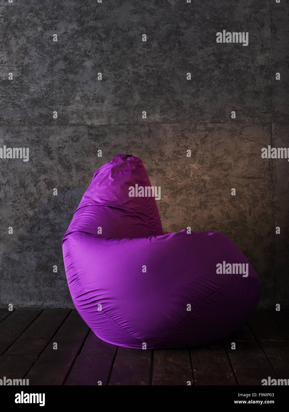 Beanbag at home or office - Stock Image