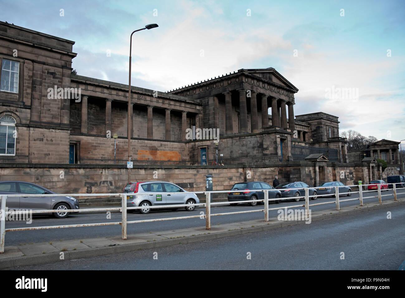 Edinburgh, Scotland, UK, 17 Dec. 2015  Edinburgh Councillors have rejected plans to turn the former Royal High School - Stock Image